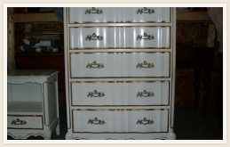Refinished Wooden Dresser